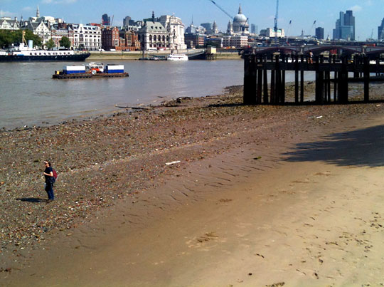 London Beach at Southwark