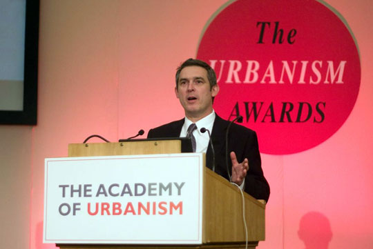 Kevin Murray at the Academy of Urbanism Awards 2010