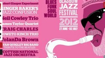Supporting the Glasgow Jazz Festival